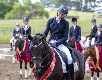 Chanel Flyger - Hot Chocolate MH  -  Dressage NZ Small Tour