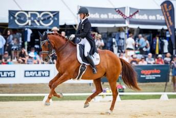 Melissa Galloway - Windermere Johanson W  -  Dressage NZ Medium Tour & Grand Prix