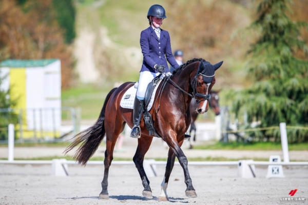 Stephanie Baker - Popstar MH  -  Dressage NZ Youth Squad